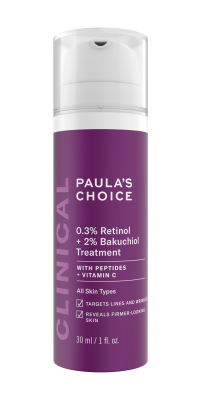 CLINICAL 0,3% Retinol + 2% Bakuchiol Treatment
