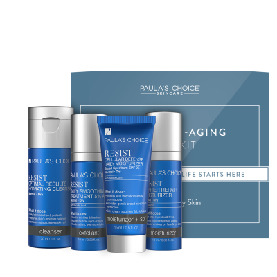 Resist Anti-Aging Trial Kit - normalna do suha koža