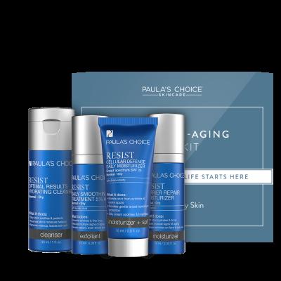 Resist Anti-Aging Trial Kit - normalna do suha koža